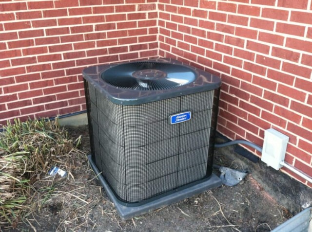 An american standard air conditioner