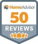 homeadvisor 50 reviews badge