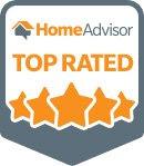 homeadvisor top rated hvac company badge
